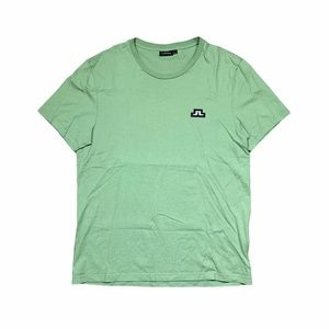 J Lindeberg Light Pale Green T Shirt Logo Medium